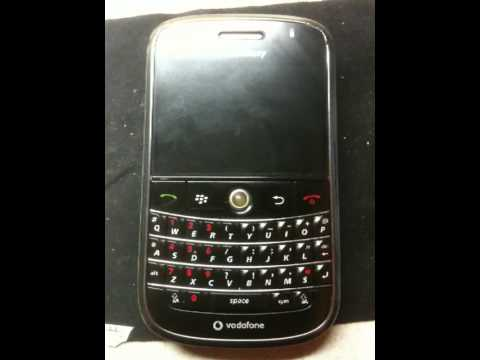 {problem} blackberry 9000 dead set red lyts blinking