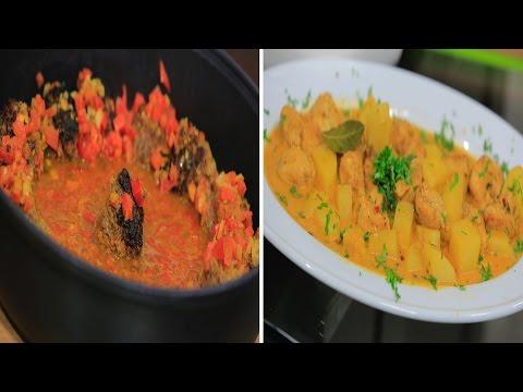 دجاج هندي بالكاري - أرز بجوز الهند - الكفتة الهندية : اميرة في المطبخ حلقة كاملة