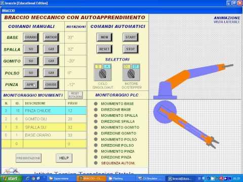 Smart Project Omron 2013, Braccio Meccanico con Autoapprendimento