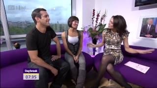 Kate Garraway   Christine Bleakley   Stockings & Heels Both   01 Nov 10 tvStars