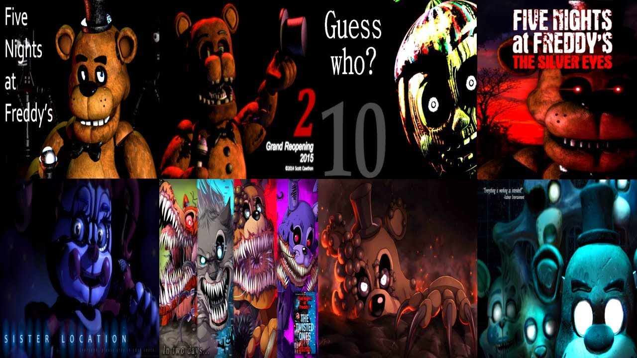 FNAF 2014 to 2019! ALL TEASERS