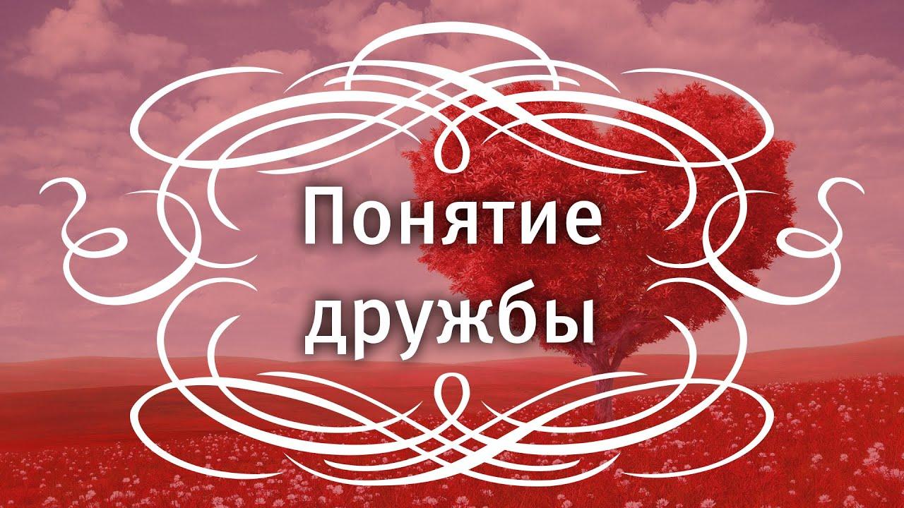 Екатерина Андреева - Понятие дружбы.