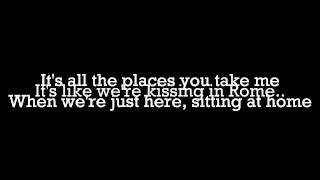 Hunter Parrish- Sitting At Home (Lyrics Video)