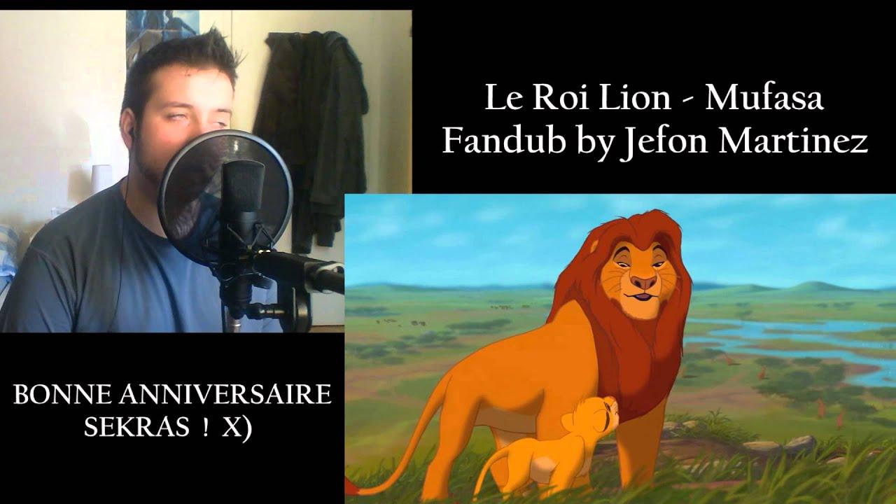 Happy Birthday Sekras Le Roi Lion Mufasa Fandub