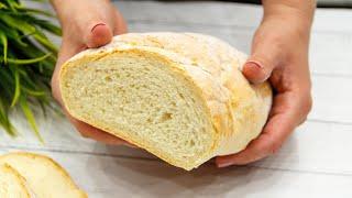 БАТОН очень вкусный домашний хлеб простой рецепт теста ЭТО ПРОСТО