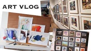 ART VLOG: ВАЖНОЕ ОБЬЯВЛЕНИЕ! Выставки, Уроки, Новые работы