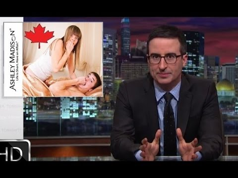 John Oliver: Wife Cheating Canadians (HBO)