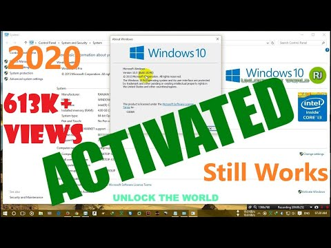 How to activate windows 10 , 8 , 8.1, 7 ,...