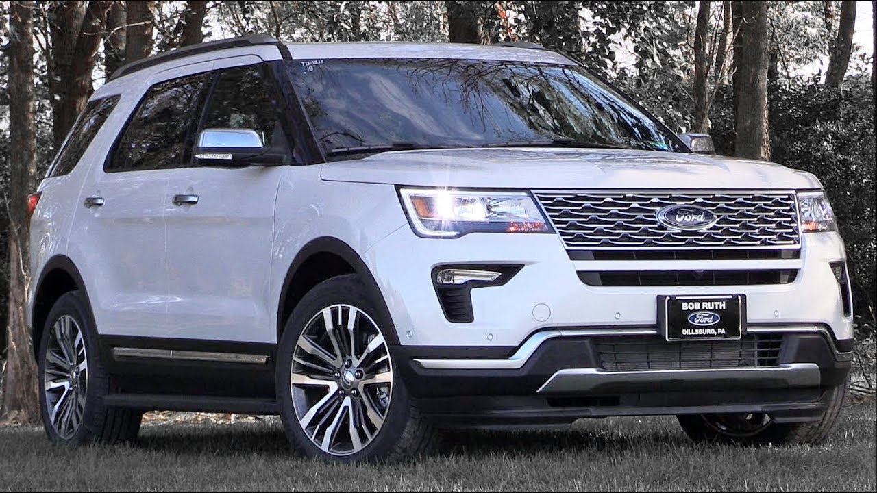 2019 Ford Explorer: Review - YouTube