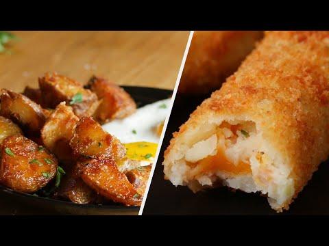 9 Crunchy And Delicious Potato Snacks • Tasty