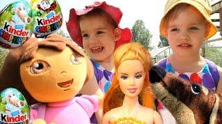 Даша путешественница, кукла Барби, СОНЯ и ЛИЗА Следопыт мультфильм на русском новые серии. Игрушки