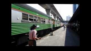 Oops the driver missed the Tablet Token. State Railway of Thailand [SRT].