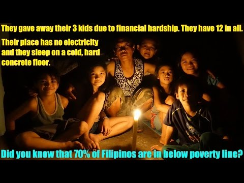 Giving is a Democratic Socialism: Travel to the Real Philippines. Poverty among the Filipinos