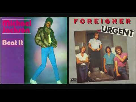 "Michael Jackson and Foreigner - ""Beat It/Urgent"""