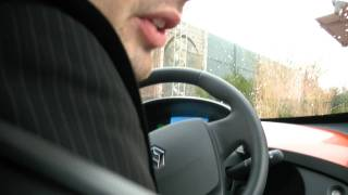 Test driving the Renault Twizy Electric Car