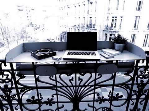 baracood la table bar pour balcon terrasse youtube. Black Bedroom Furniture Sets. Home Design Ideas