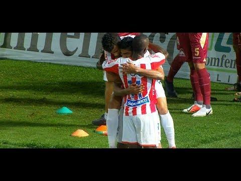 Tolima vs. Junior (1-2)   Liga Aguila 2019-1   Fecha 1