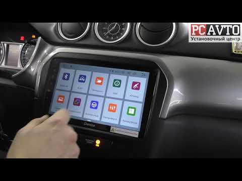 Suzuki Vitara - Штатная Android магнитола с функцией разделения экрана