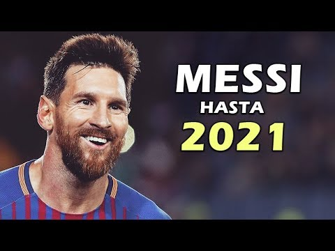 ¿Porque Messi solo jugará hasta el 2021 en Barcelona?