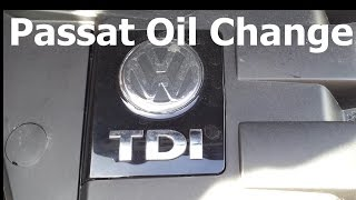 VW Volkswagen Passat 1.9 TDi B5 B5.5 Oil and Filter Change Replacement