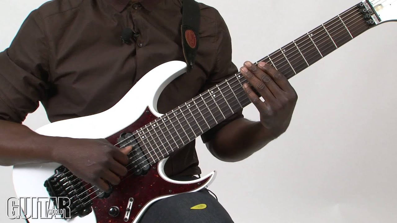 prog gnosis with tosin abasi how to play the thumb slapped intro