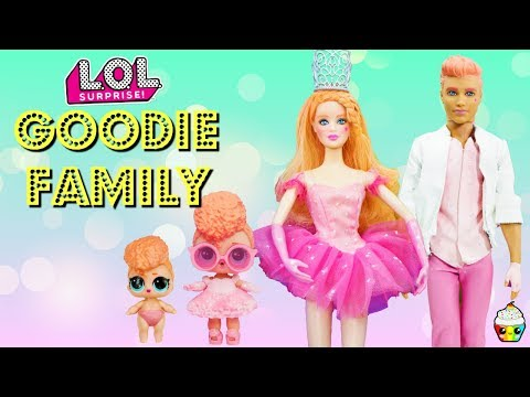 Goodie Family DIY Custom Fun Craft With Barbie and Ken Cupcake Kids Club