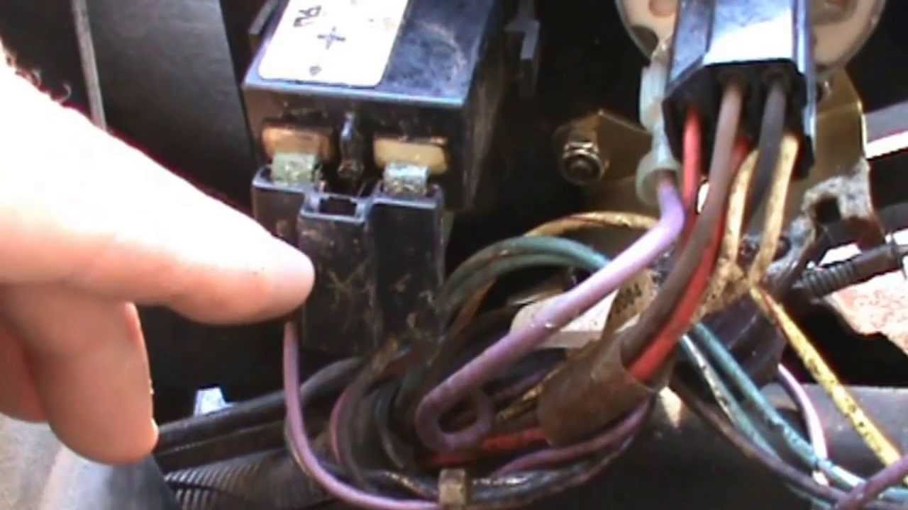 Zero turn mower electrical troubleshooting