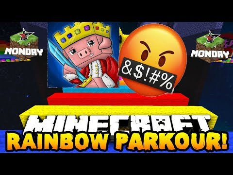 Technoblade RAGES in Rainbow Parkour! Minecraft Monday #11 w/ ConorEatsPants James Charles & Skeppy! thumbnail