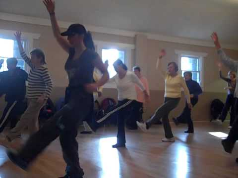 Senior Dance Fitness Theresa B (formely Zumba gold) Pitbull Fireball