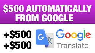 AUTOMATIC $500 FROM GOOGLE [Make Money Online] - Ryan Hildreth