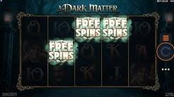 Online slots - A dark matter free spins bonus