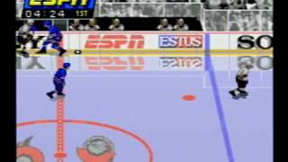 ESPN National Hockey Night (Sega CD) - Introduction