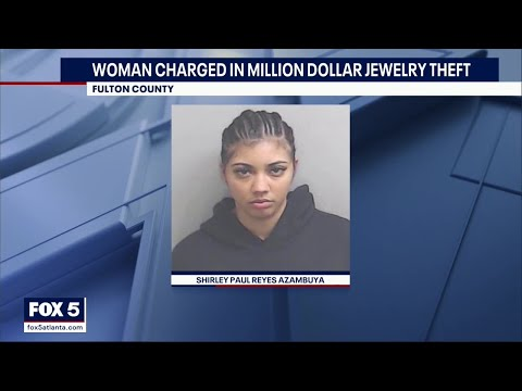 Woman accused of stealing jewelry at the ends of dates, turns herself in