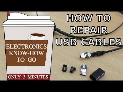 How To Repair (Micro) USB Cables | Electronics Know-how To Go #1