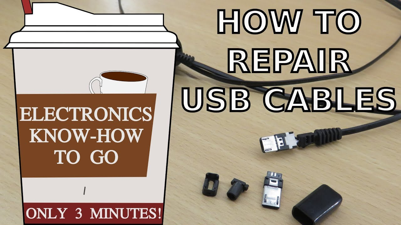 How To Repair  Micro  Usb Cables
