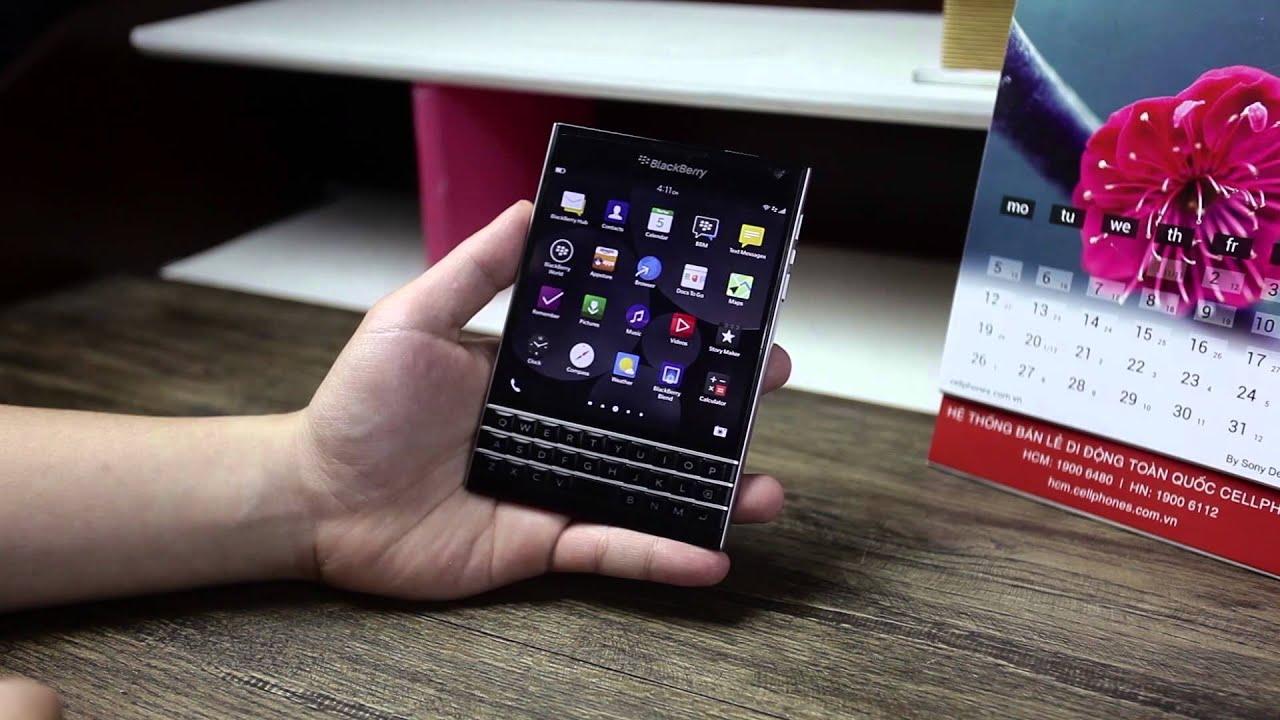 Schannel – Đánh giá BlackBerry Passport : Hệ điều hành BB OS, màn hình … – Phần 1
