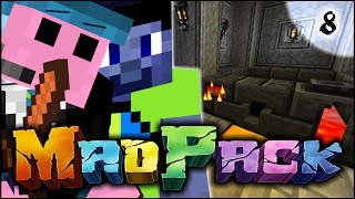 "Minecraft MAD PACK 2 SMP - ""PROGRESS... and then not"" - Episode 8 w/Vikkstar (Modded Survival)"