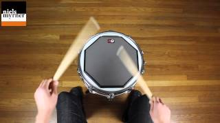 Single Paradiddle - Drum Rudiment Lesson