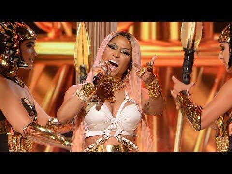 Nicki Minaj Performs Remy Ma Diss Track At 2017 NBA Awards