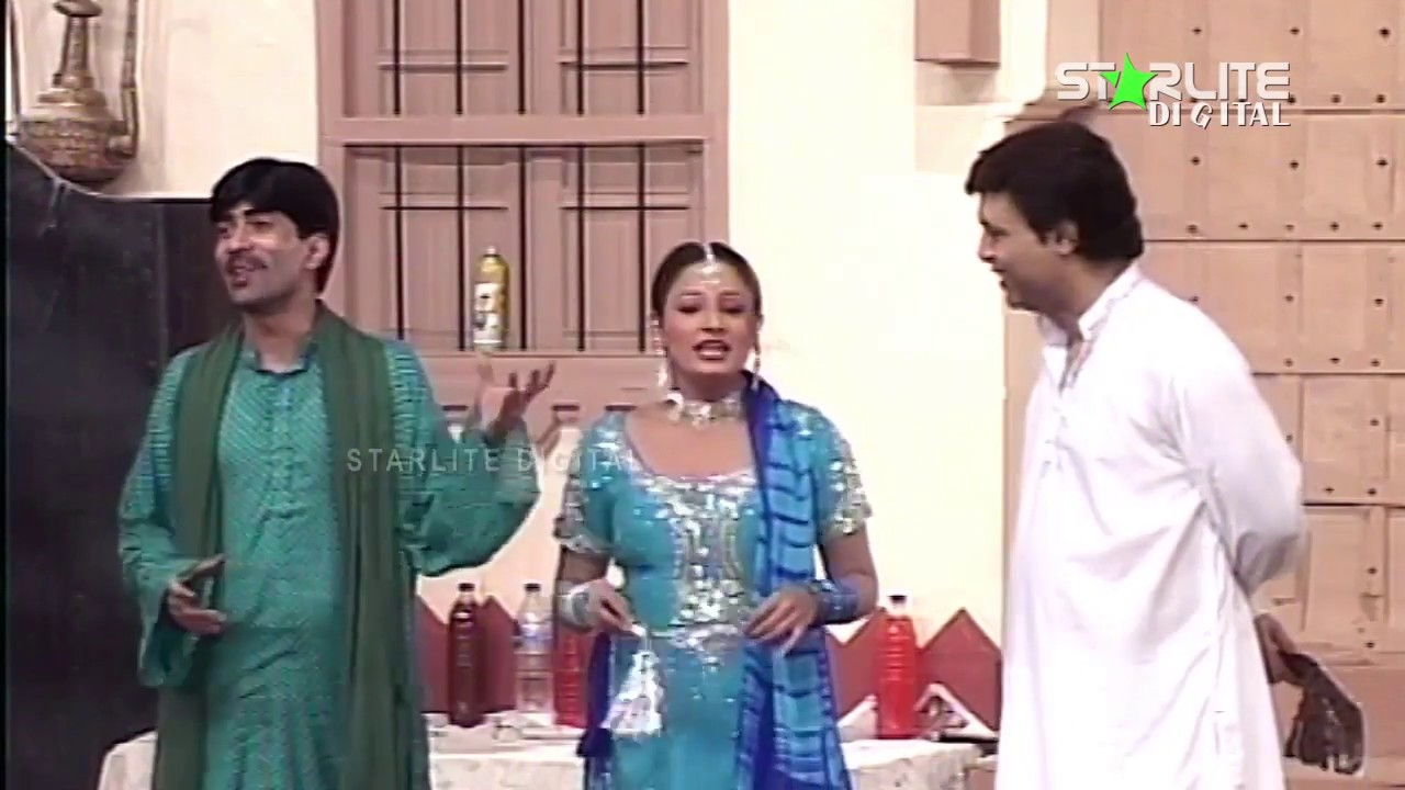 Best of Sajan Abbas and Asif Iqbal New Pakistani Stage Drama Full Comedy Funny Clip | Pk Mast