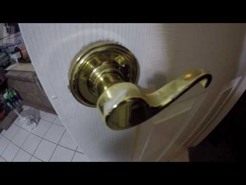 DIY | Remove/Replace Door's Handle With Hidden Screws