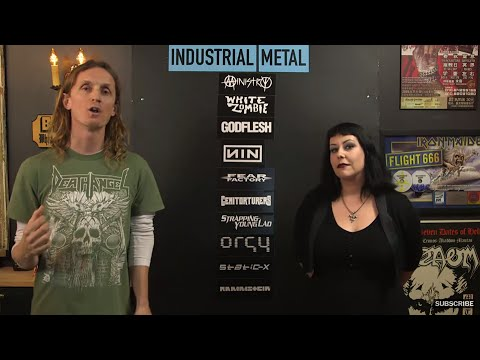 INDUSTRIAL METAL Essential bands debate with Liisa Ladouceur  LOCK HORNS  stream archive