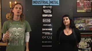 INDUSTRIAL METAL Essential bands debate with Liisa Ladouceur | LOCK HORNS (live stream archive)