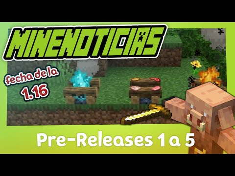 Minecraft (Pre-Releases 1.16) Fecha para la Nether Update from YouTube · Duration:  3 minutes 36 seconds
