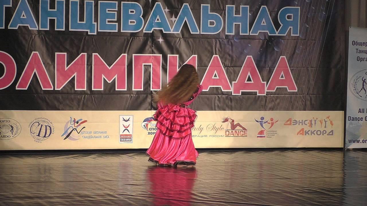 РТО-2015. Кубок. Oriental классика. 4-я лига. Дети, соло девочки, финал