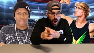 LOGAN PAUL AND JAKE PAUL SCARED TO FIGHT KSI!!
