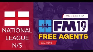 FM19 Free Transfers | Best Football Manager 2019 free transfers for National North/South League