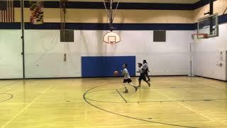 Y.E.S. League Black Team vs Gray Team -Marvin and Joel Guthrie Coach David