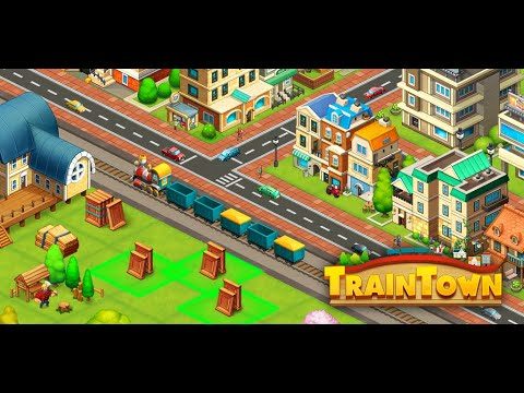 Train town - 3 match merge magic puzzle games