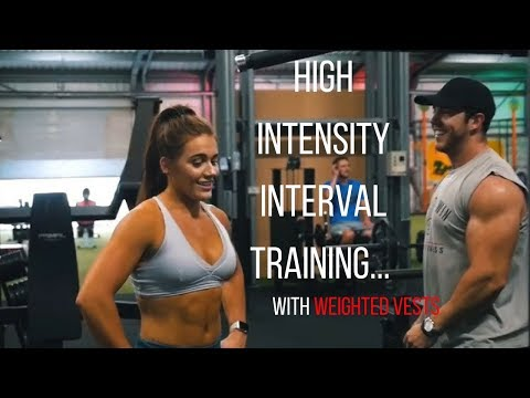 High Intensity Workout   Death By Weighted Vest